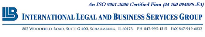 International Legal and Business Services